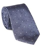 Галстук Fabio Toma TIE AURUM 100% шёлк Серо-голубой Италия изображение 0