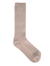 Носки Peserico S41017F12 70% шерсть, 20% шёлк, 10% кашемир Бежевый Италия изображение 0