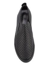 Кеды Henry Beguelin SU3602 100% кожа Черный Италия изображение 4