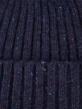 Шапка ONES 130 100% кашемир Синий Италия изображение 1