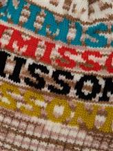 Шапка Missoni MBS00003 95% шерсть, 5% полиамид Натуральный Италия изображение 1