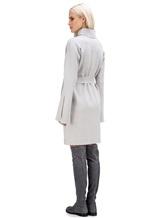 Платье Lamberto Losani 274230 100% шерсть Светло-серый Италия изображение 3