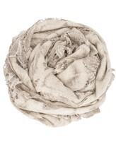Палантин Faliero Sarti 1010 85% шерсть, 10% хлопок, 5% шёлк Бежево-серый Италия изображение 0