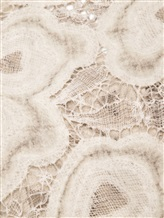 Палантин Faliero Sarti 1010 85% шерсть, 10% хлопок, 5% шёлк Бежево-серый Италия изображение 1