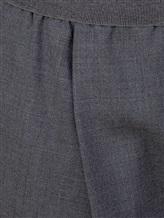 Брюки Agnona 71020Y 53% полиэстер, 44% шерсть, 3% эластан Серый Италия изображение 4