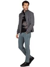 Джинсы Jacob Cohen PW688 C0MF 98% хлопок, 2% эластан Серо-голубой Италия изображение 0