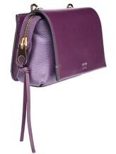 Сумка Agnona PB400X 100% кожа Фиолетовый Италия изображение 4