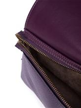 Сумка Agnona PB400X 100% кожа Фиолетовый Италия изображение 7