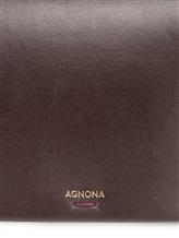 Сумка Agnona PB400X 100% кожа Бордовый Италия изображение 6