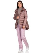 Брюки Agnona 73020Y 90% шерсть, 8% кашемир, 2% эластан Розовый Италия изображение 0