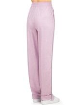 Брюки Agnona 73020Y 90% шерсть, 8% кашемир, 2% эластан Розовый Италия изображение 3
