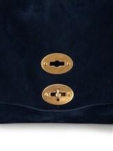Сумка ZANELLATO 06134 100% кожа Синий Италия изображение 8
