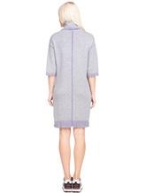 Платье Re Vera 18191039 80% кашемир 20% хлопок Серый Китай изображение 4