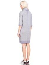 Платье Re Vera 18191039 80% кашемир 20% хлопок Серый Китай изображение 5