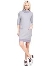 Платье Re Vera 18191039 80% кашемир 20% хлопок Серый Китай изображение 0