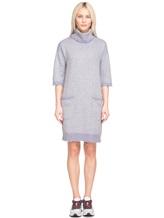 Платье Re Vera 18191039 80% кашемир 20% хлопок Серый Китай изображение 2