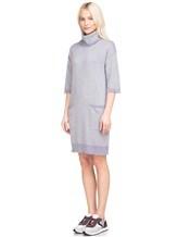 Платье Re Vera 18191039 80% кашемир 20% хлопок Серый Китай изображение 3