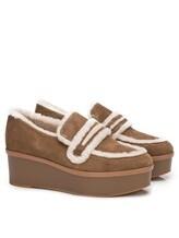 Туфли What for WF466 90% кожа, 10% шерсть Светло-коричневый Китай изображение 0