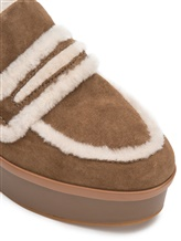 Туфли What for WF466 90% кожа, 10% шерсть Светло-коричневый Китай изображение 3