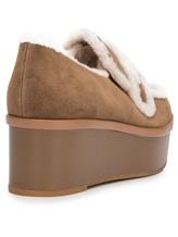 Туфли What for WF466 90% кожа, 10% шерсть Светло-коричневый Китай изображение 6