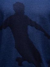 Водолазка Pashmere WU89064 60% шерсть, 30% шёлк, 10% кашемир Синий Италия изображение 4