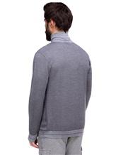 Водолазка Pashmere WU89064 60% шерсть, 30% шёлк, 10% кашемир Светло-серый Италия изображение 3