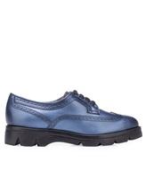 Ботинки Santoni WUUD56815 100% кожа Темно-голубой Италия изображение 1