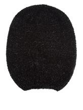 Шапка Peserico S36067F03 40% альпака, 20% мохер, 20% шёлк, 19% полиамид, 1% эластан Черный Италия изображение 0