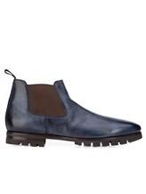 Ботинки Santoni MCNC16211 100% кожа Синий Италия изображение 1