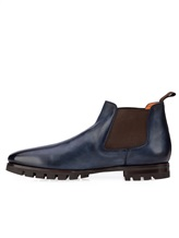 Ботинки Santoni MCNC16211 100% кожа Синий Италия изображение 2