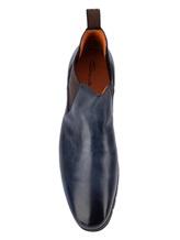 Ботинки Santoni MCNC16211 100% кожа Синий Италия изображение 4