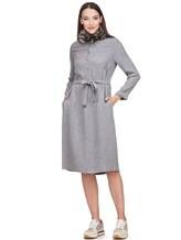 Платье Peserico S02195A 70% вискоза 30% шерсть Светло-серый Италия изображение 0