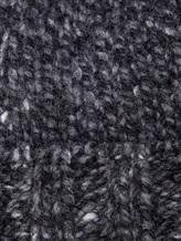 Шапка IRISvARNIM 188900 70% шерсть, 30% кашемир Темно-серый Италия изображение 1