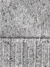 Шапка IRISvARNIM 188900 70% шерсть, 30% кашемир Светло-серый Италия изображение 1