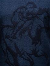 Джемпер Pashmere WU89066 60% шерсть, 30% шёлк, 10% кашемир Серо-синий Италия изображение 4