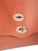 Сумка ZANELLATO 06134 100% кожа Терракотовый Италия изображение 6