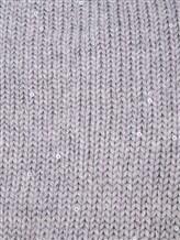Шапка Andre Maurice 18K311 75% кашемир, 25% шёлк Светло-серый Италия изображение 1