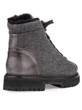 Ботинки Santoni MBSN20943 60% шерсть, 40% кожа Темно-серый Италия изображение 3