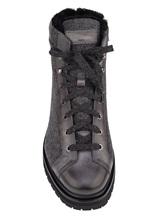 Ботинки Santoni MBSN20943 60% шерсть, 40% кожа Темно-серый Италия изображение 4