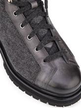 Ботинки Santoni MBSN20943 60% шерсть, 40% кожа Темно-серый Италия изображение 5