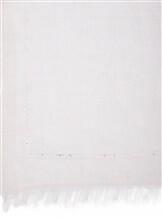 Палантин Faliero Sarti 0251 70% кашемир, 30% шёлк Жемчужный Италия изображение 1