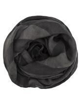 Шарф EREDA 18WEDSC003 50% шерсть, 30% вискоза, 20% шёлк Темно-серый Италия изображение 0