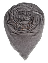 Палантин AVANT TOI 218A6010 100% кашемир Темно-серый Италия изображение 0