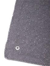 Косынка Andre Maurice 18K339 67% кашемир, 33% шёлк Серый Италия изображение 1
