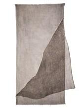 Шарф EREDA 18WEDSC002 60% шерсть, 40% шёлк Серо-бежевый Италия изображение 2