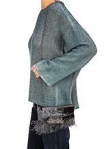 Сумка Lorena Hayot by Lorena Antoniazzi LH3443B06 66% вискоза, 34% купра Темно-серый Италия изображение 3