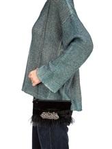 Сумка Lorena Hayot by Lorena Antoniazzi LH3443B06 66% вискоза, 34% купра Черный Италия изображение 4