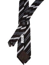 Галстук Fabio Toma TIE AURUM 100% шерсть Темно-коричневый Италия изображение 2