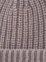 Шапка IRISvARNIM 188900 100% кашемир Бежево-серый Италия изображение 1