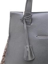 Сумка Agnona PB404X 100% кожа теленка Серый Италия изображение 4